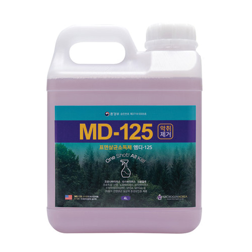살균제 MD-125 4L