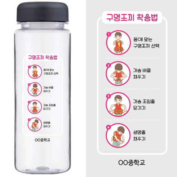 SW_47_생존수영 수분보충 마이보틀_구명조끼 착용법
