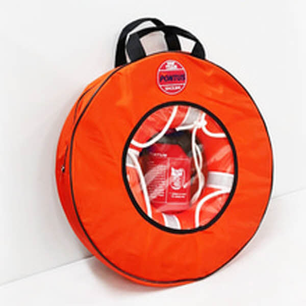 아이들도 쉽게 던지는 체험용 구명환-세트 (구명환+로프+보관가방)