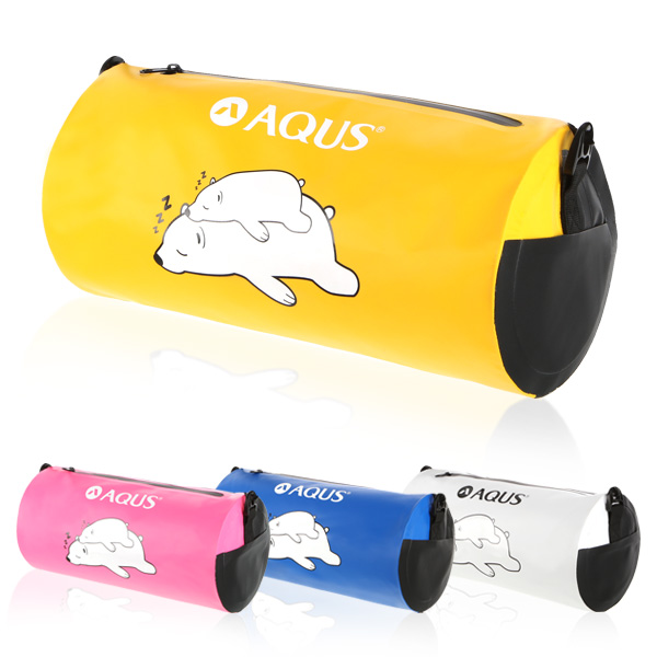 아쿠스 원통 방수 수영가방