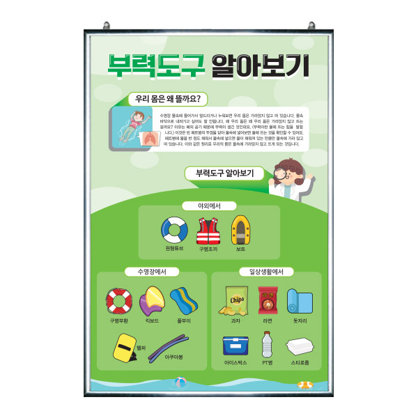 EG_25_복도에서 배우는 생존수영 이론교육 패널 시리즈_부력도구 알아보기