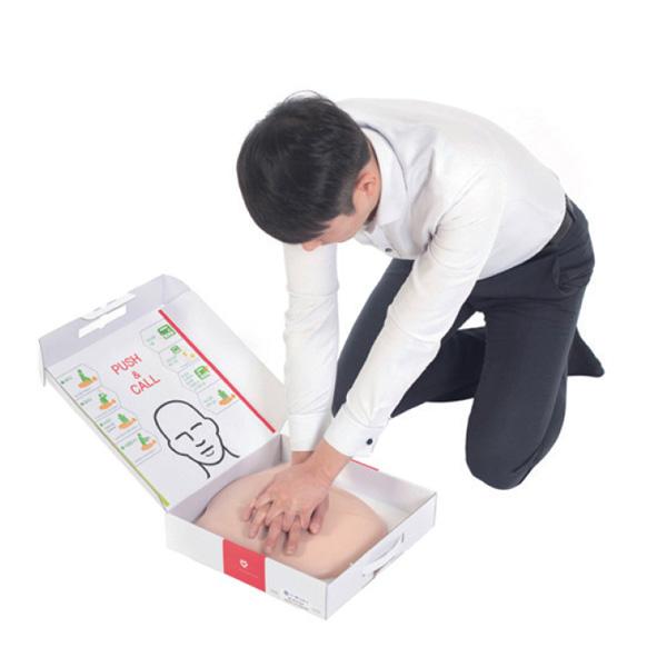 박스형 심폐소생술 모형