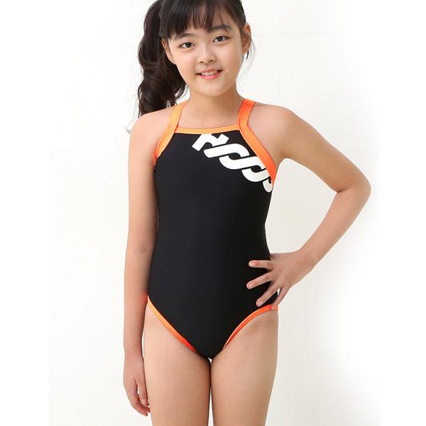 후그 여아 수영복 기본형