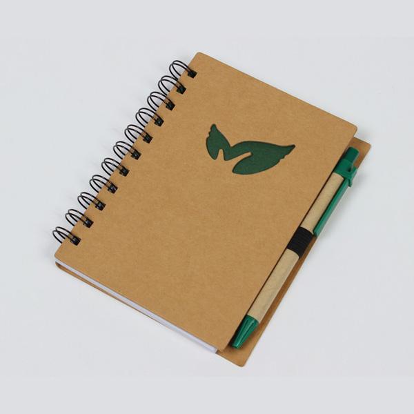 나뭇잎 수첩형 메모노트